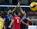 گزارش بازی والیبال ایران _ کره
