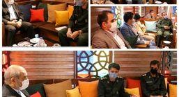 توسعه همکاری های بین سپاه و سازمان منطقه آزاد قشم در حوزه های فرهنگی و اجتماعی
