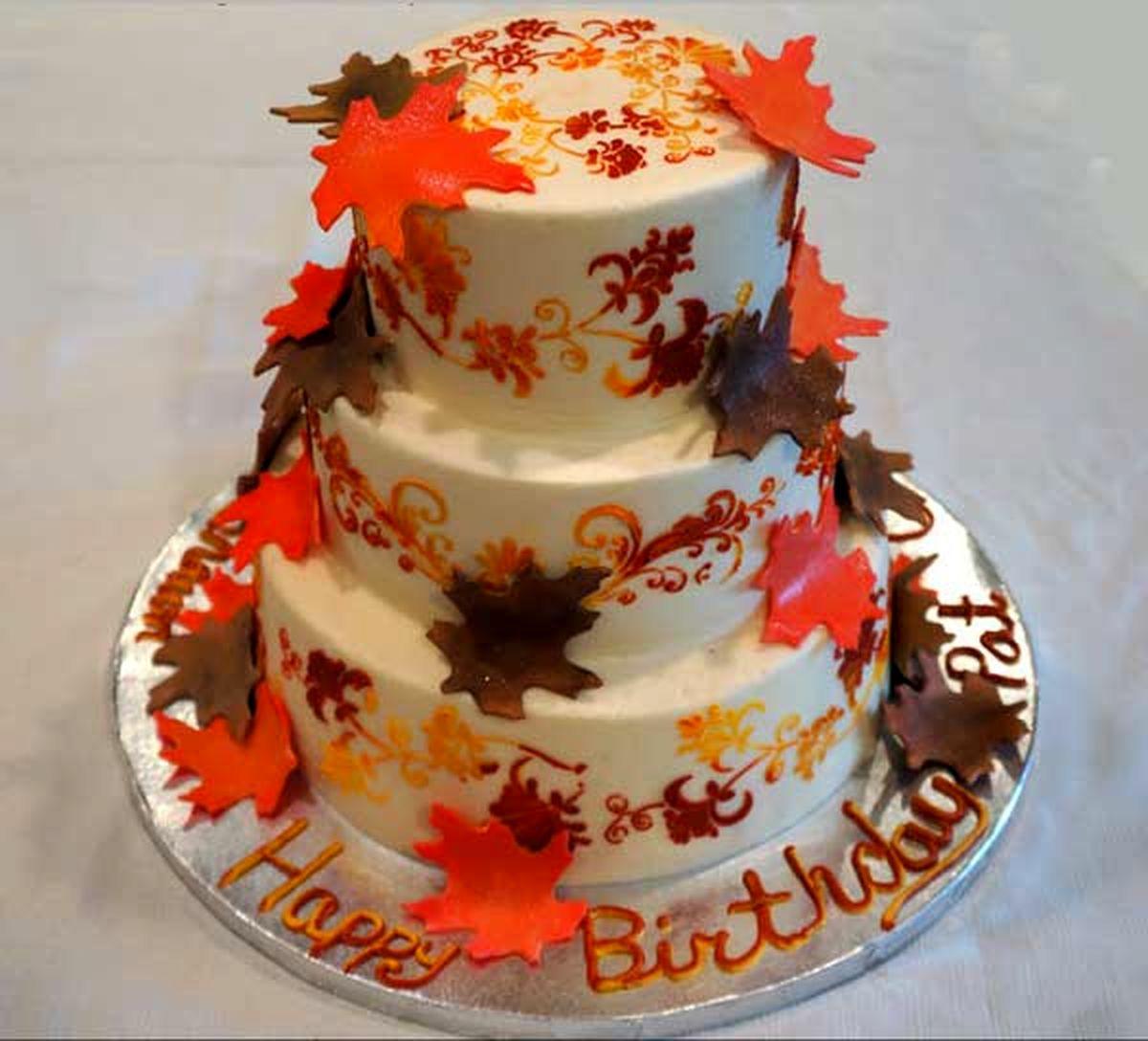 عکس کیک تولد متولدین مهر