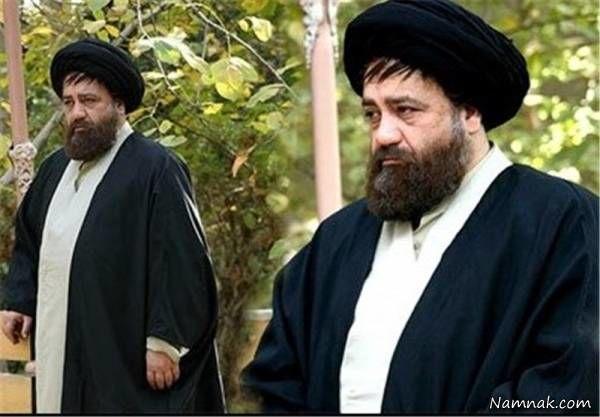 گریم محمدرضا شریفی نیا در نقش احمد خمینی