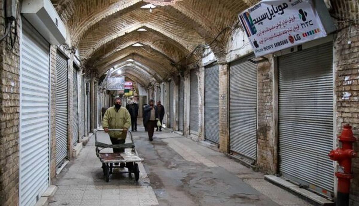 بازگشایی بازار تهران و بعضی از اصناف از شنبه اعلام شد