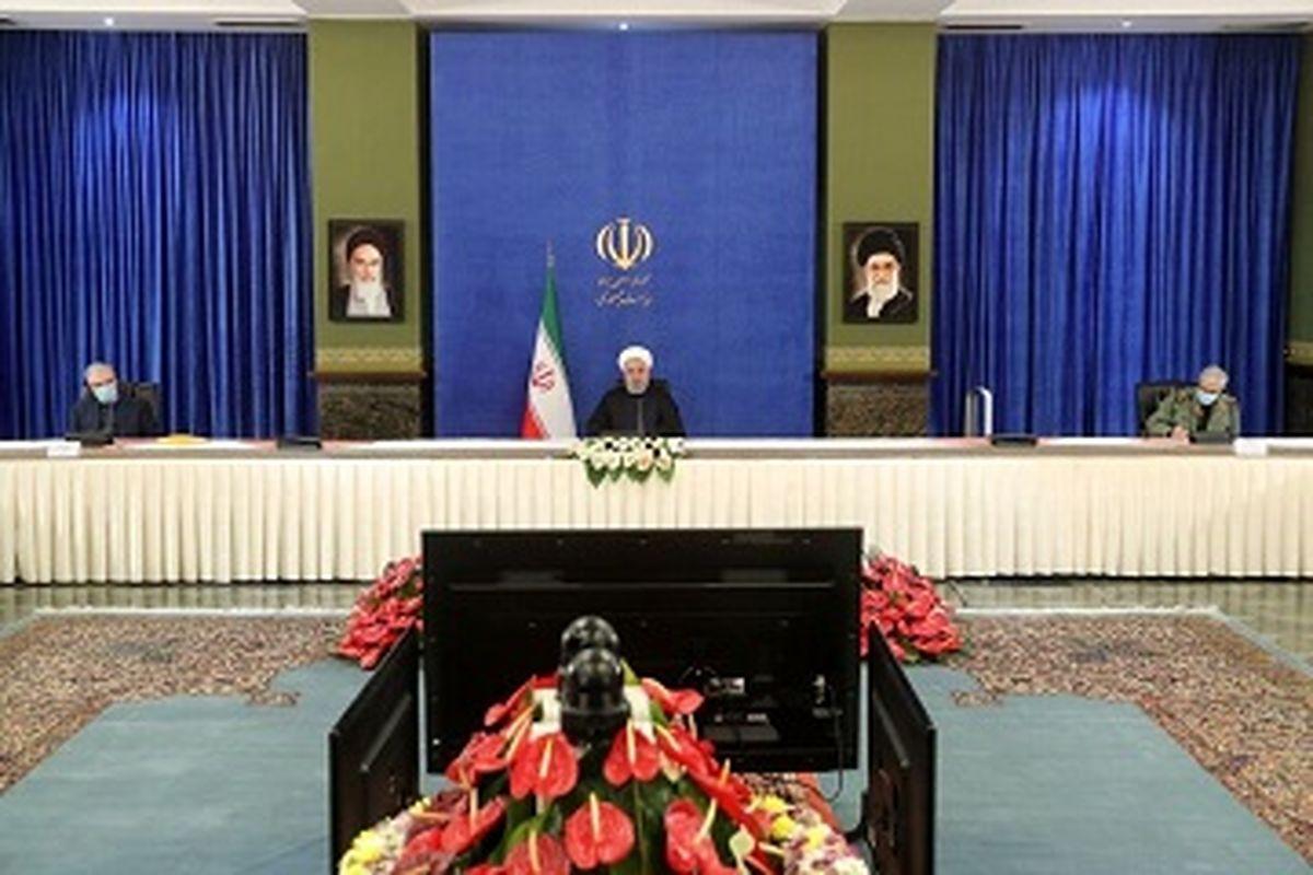 روحانی : دولت از بورس حمایت می کند