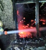 آتش سوزی مهیب در مرکز تجاری زیتون تهران + فیلم