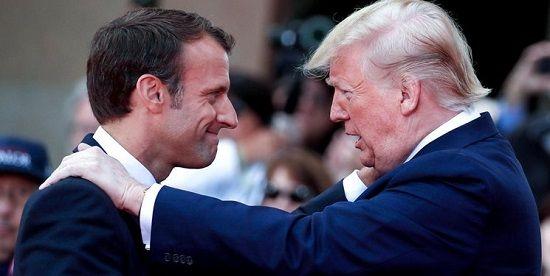 پیشنهاد مکرون به ترامپ در رابطه با ایران