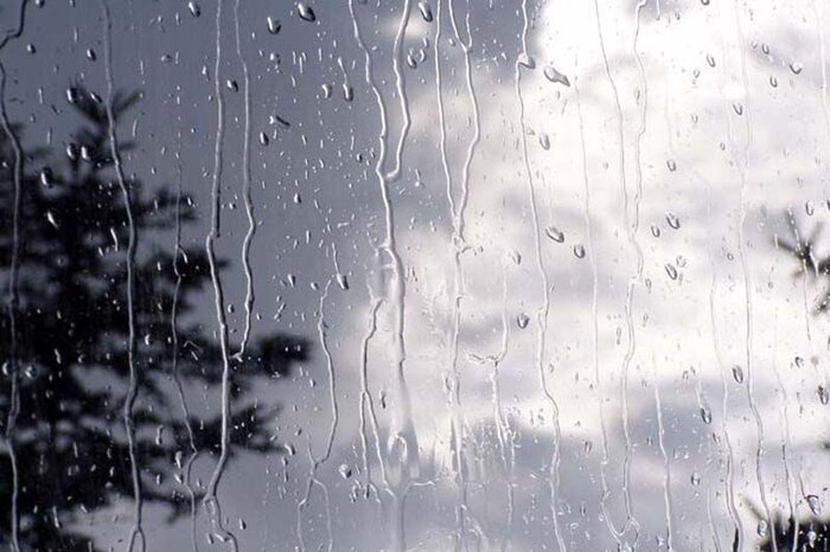 بارشهای پراکنده در برخی مناطق کشور
