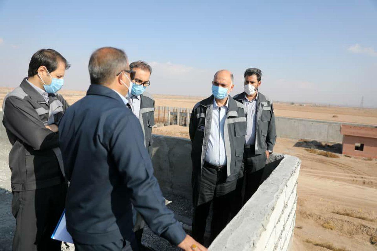 اجرای پروژه فاضلاب شهری سیرجان با جدیت در حال انجام است