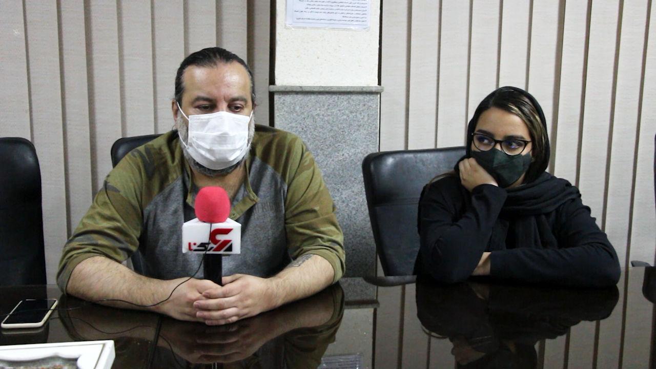 رودررویی مهراب قاسم خانی و دخترش با دزد قمه کش در کلانتری