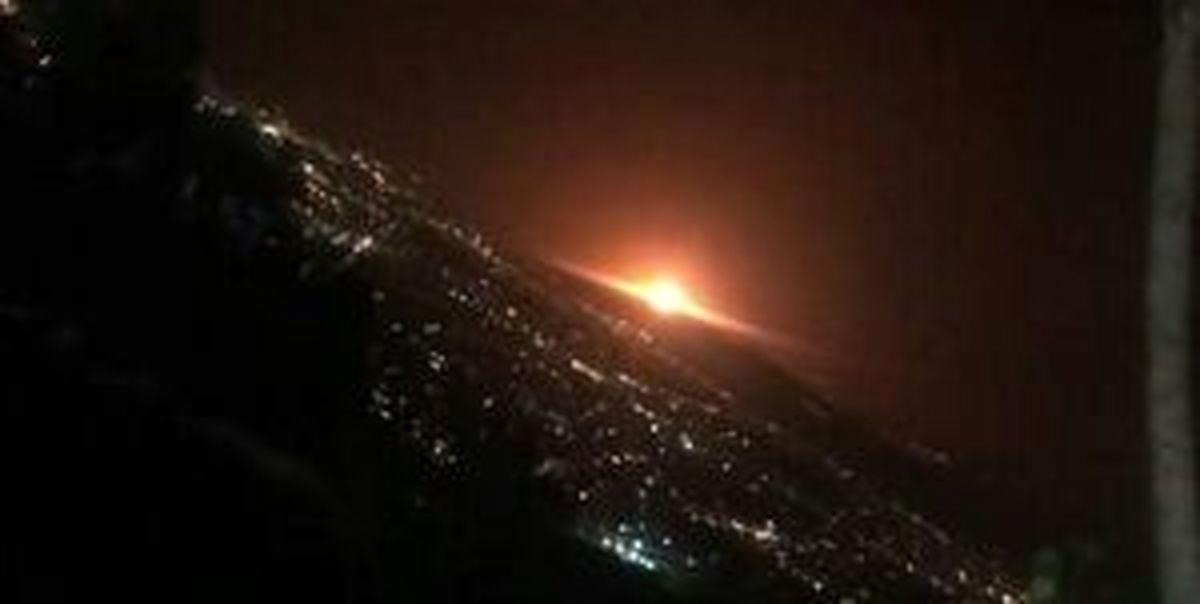 آخرین جزئیات از حادثه انفجار در منطقه پارچین تهران