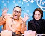 غیرتی شدن رامبد جوان روی همسرش جنجال به پا کرد + فیلم جنجالی
