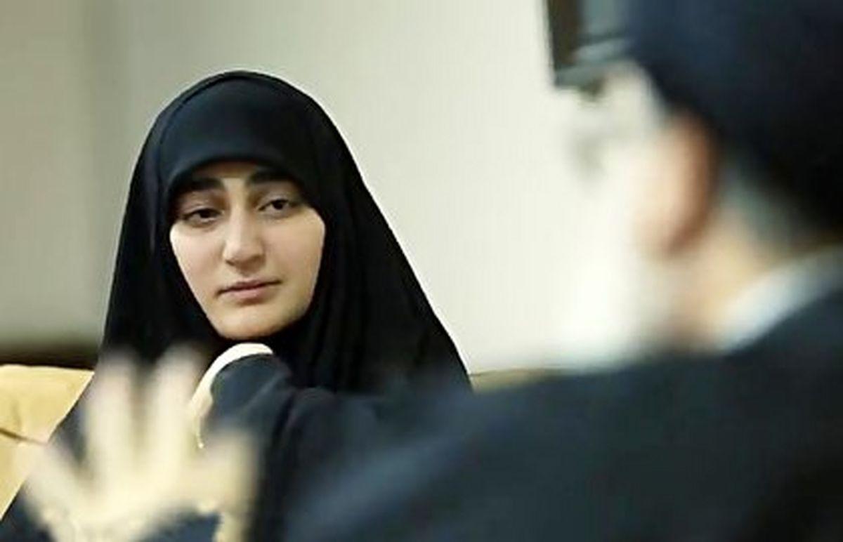 ضرغامی ازدواج زینب سلیمانی را تایید کرد