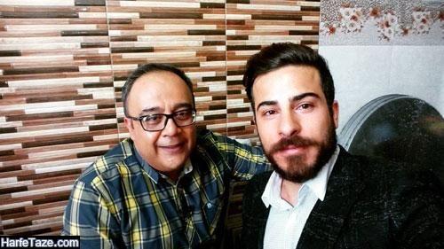 عکس های علی ابوالحسنی بازیگر و همسرش