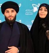 ماسک ست الهام چرخنده و همسر روحانیش غوغا به پاکرد + عکس