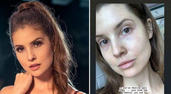 چهره واقعی ستاره زن اینستاگرام + عکس