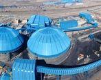 بیشترین تولید ماهانه گندله در فولاد سنگان رقم خورد