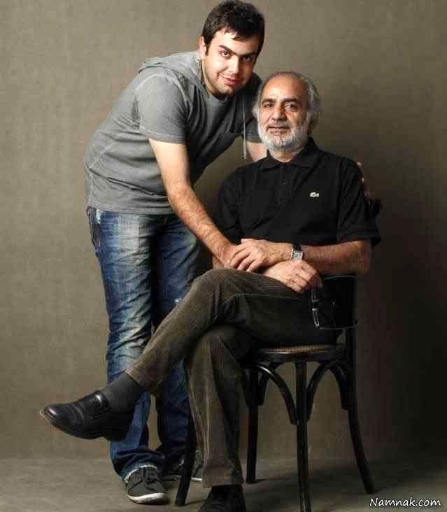 پرویز پرستویی و پسرش