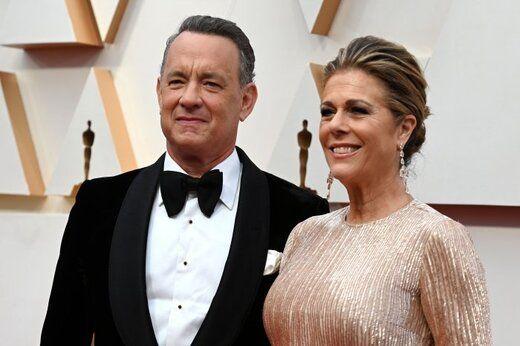 نخستین تصویر از تام هنکس و همسرش در قرنطینه + عکس