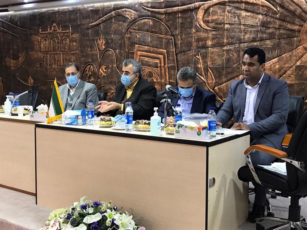 مراسم معارفه سرپرست جدید بانک توسعه تعاون استان آذربایجان غربی برگزار شد