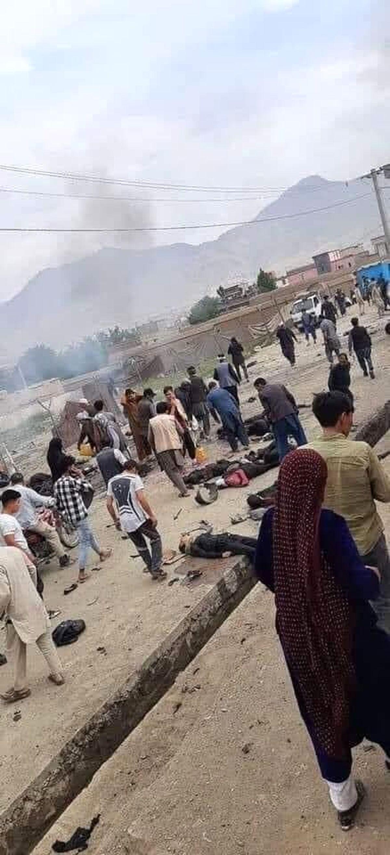 داعش در پشت پرده انفجار افغانستان است