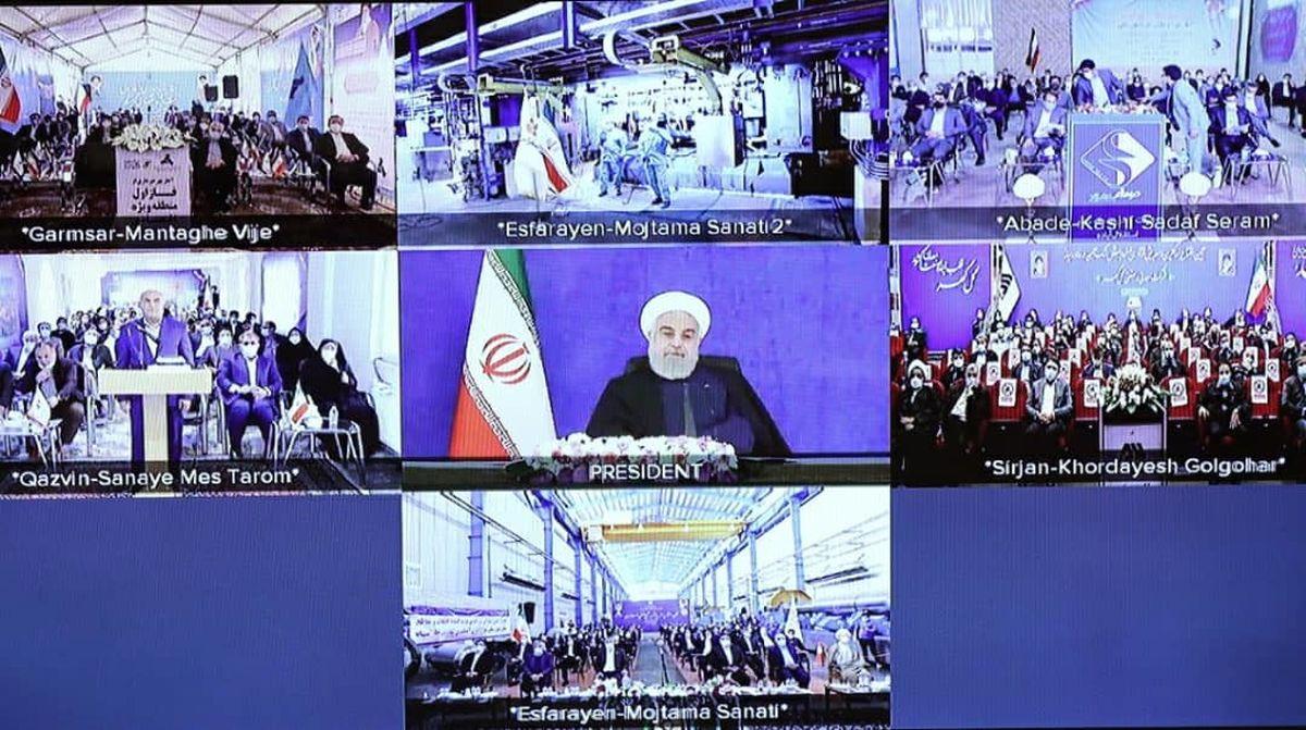 افتتاح ۵ طرح ملی وزارت صمت با بیش از ۴۵ هزار میلیارد ریال سرمایه گذاری