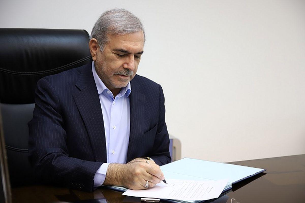مرتضی بانک در پیامی انتصاب «وزیر صمت» را تبریک گفت