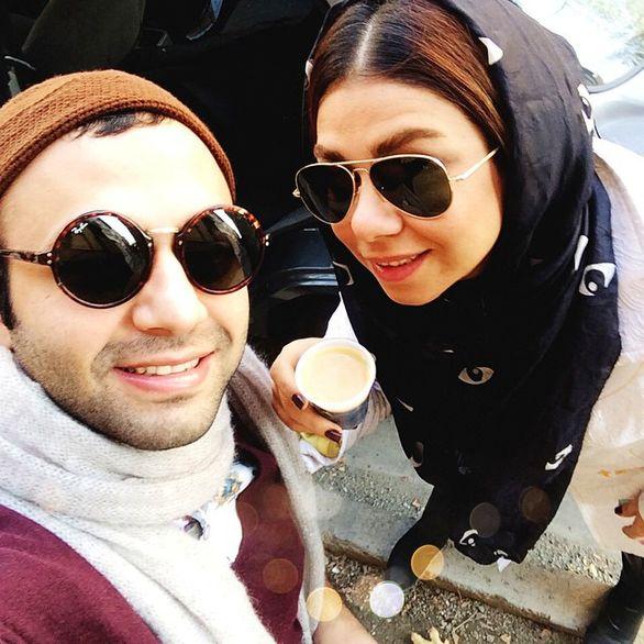 عکس های لورفته صابر ابر و همسرش + بیوگرافی وتصاویر