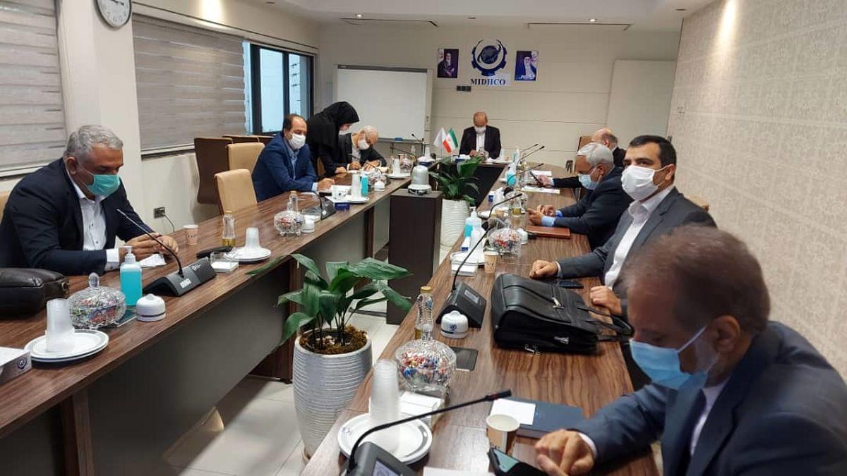 یکصد و چهلمین جلسه تولید شرکت میدکو برگزار شد