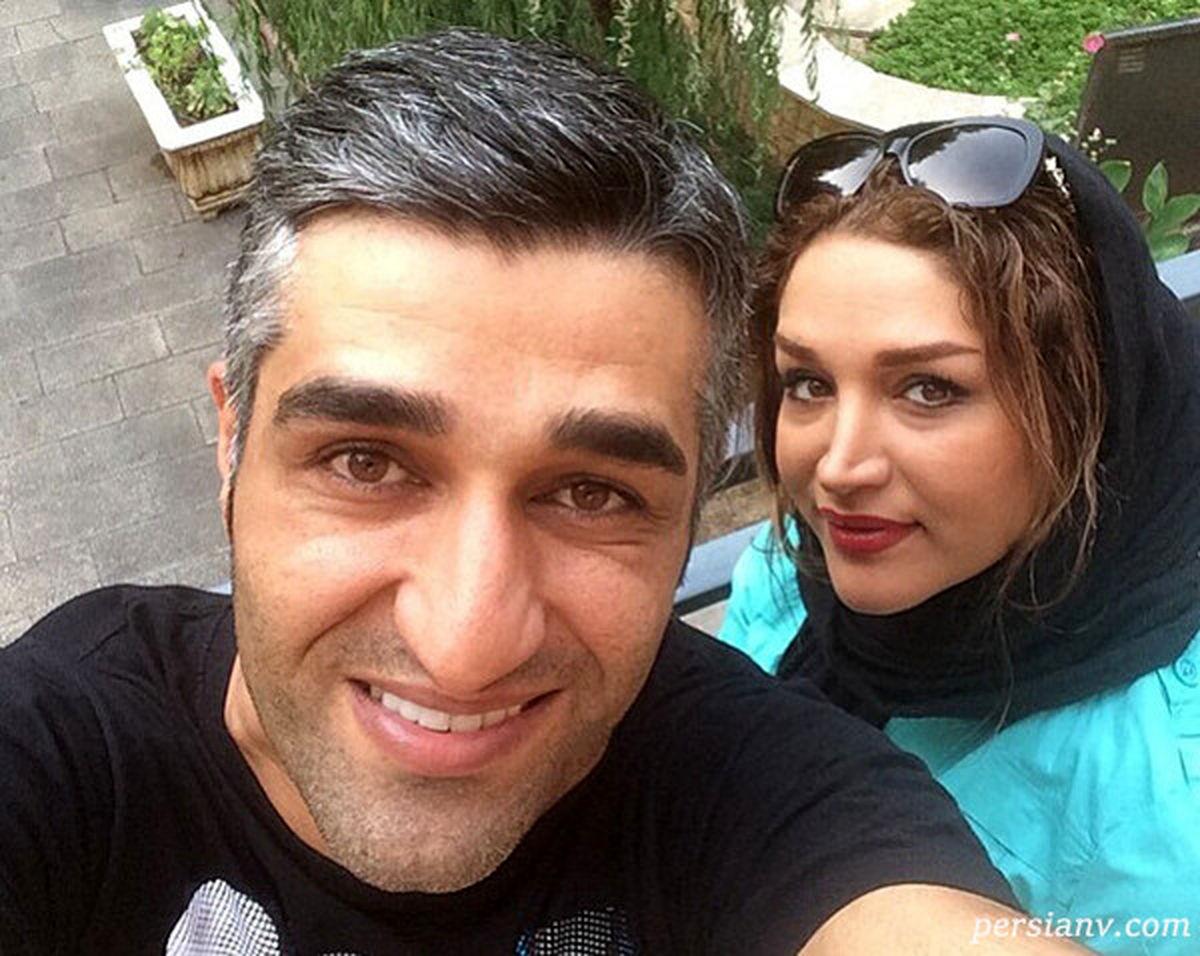 عکس دیده نشده از پژمان جمشیدی در کنار زن لبنانی + عکس