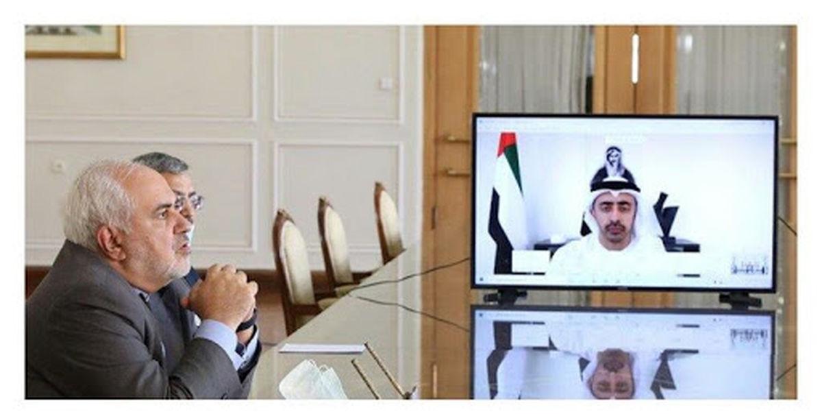 شایعه پاسخ وزیر خارجه امارات به ظریف تکذیب شد