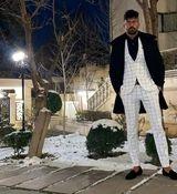 تیپ جدید و جنجالی  رامین رضاییان فوتبالیست تیم ملی + بیوگرافی و تصاویر جدید