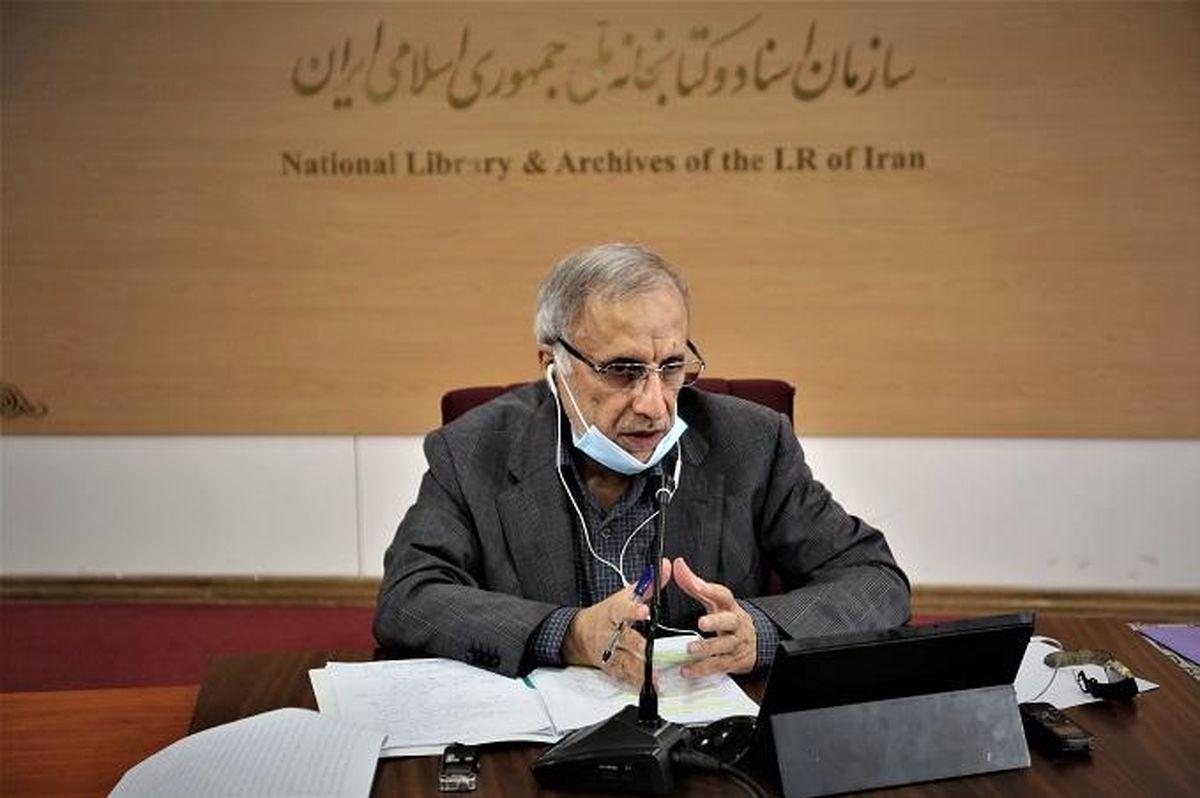 عملکرد قابل قبول سازمان اسناد و کتابخانه ملی ایران در انتشار داده ها در شرایط کرونایی