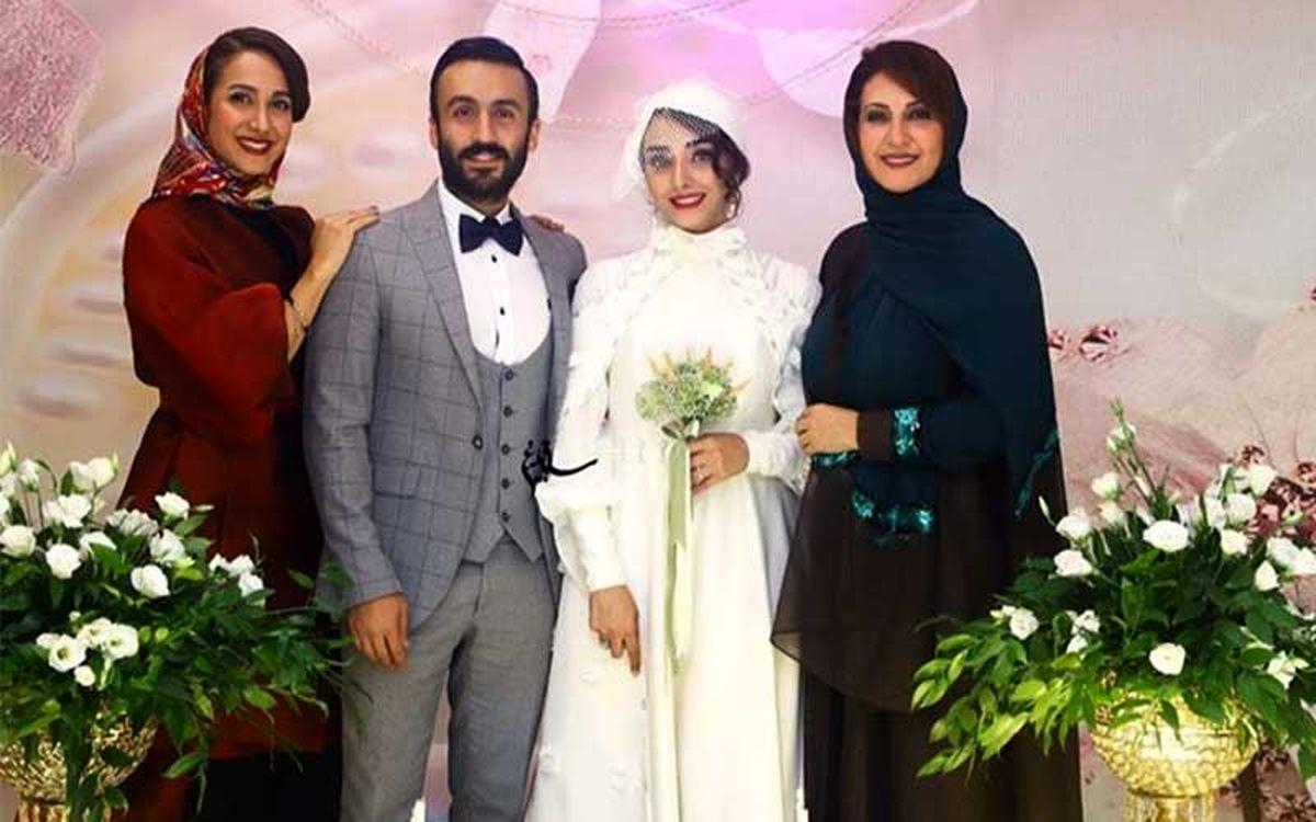 جواهرات و لباس عروس گران قیمت عروس بازیگر معروف غوغا به پاکرد + عکس