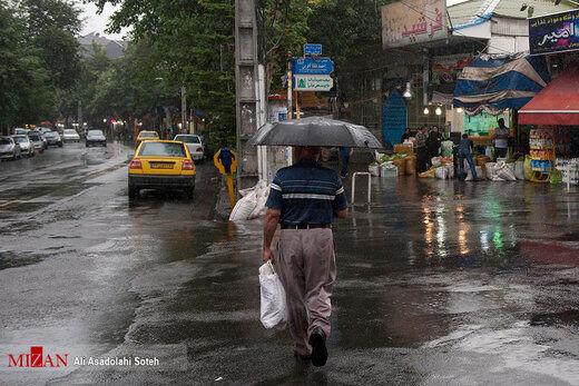 گزارش وضعیت هواشناسی ایران