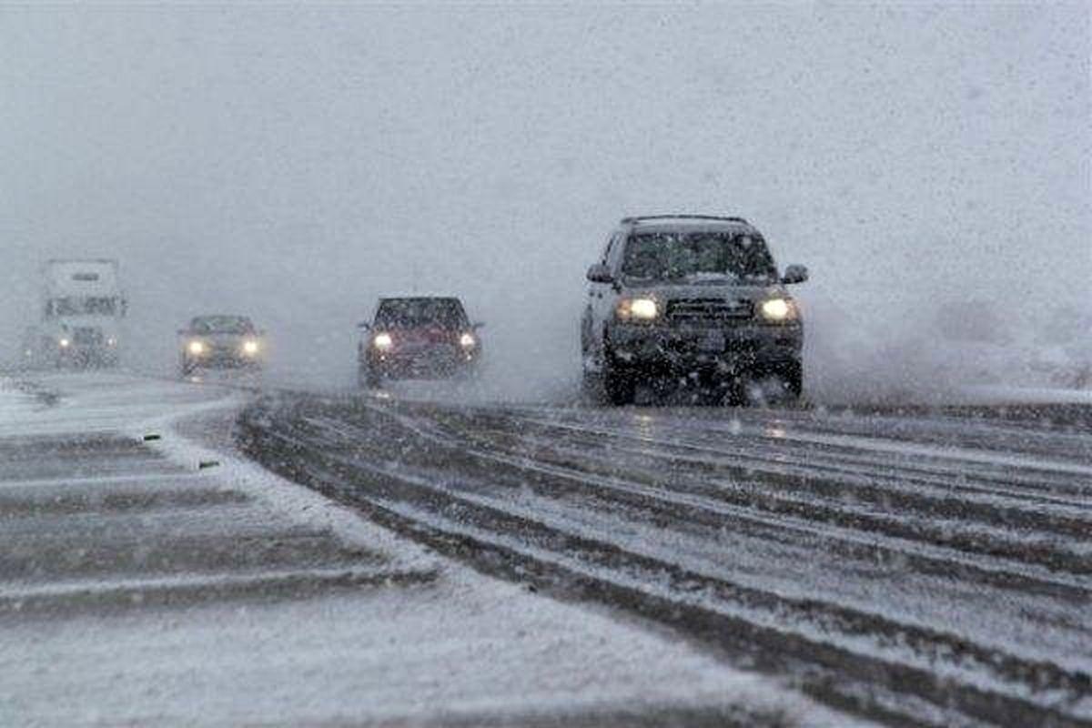 ۸ استان کشور بارش برف و باران را تجربه می کنند