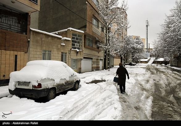 وضعیت خطرناک جاده های شمال / احتمال وقوع بهمن