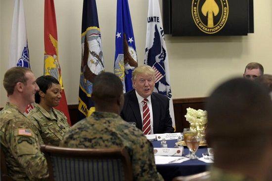 ترامپ با حمله به ایران مخالفت کرد