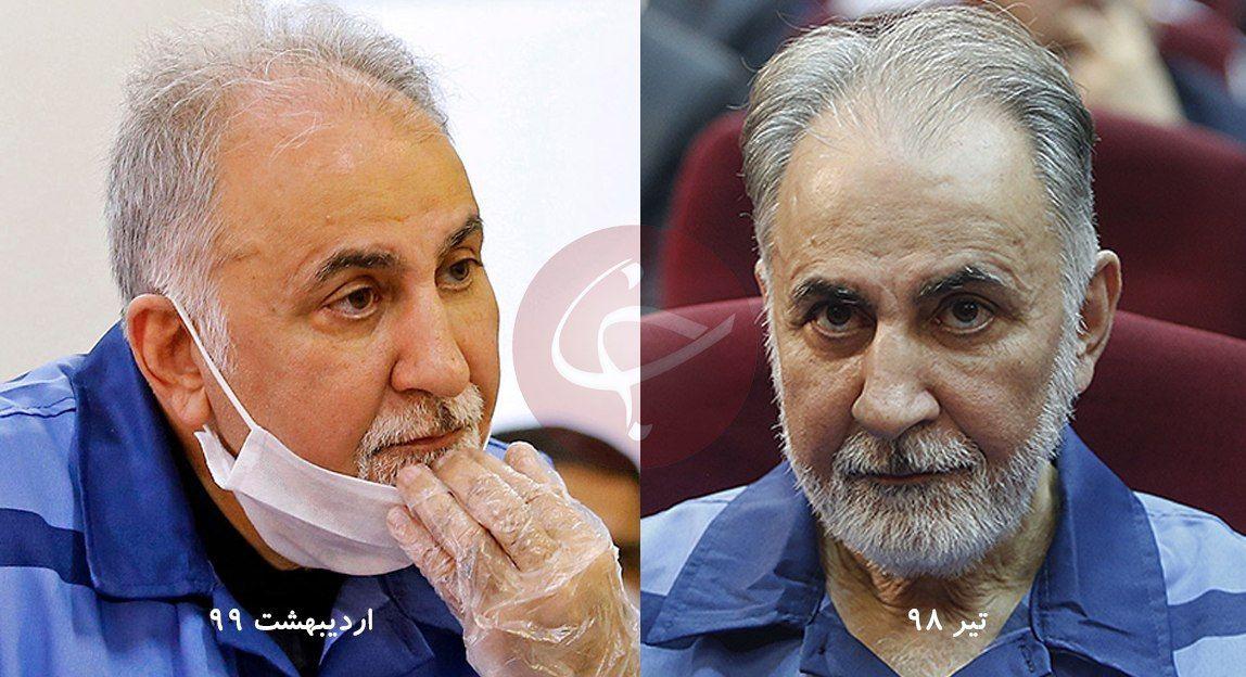 تغیر چهره محمدعلی نجفی در زندان