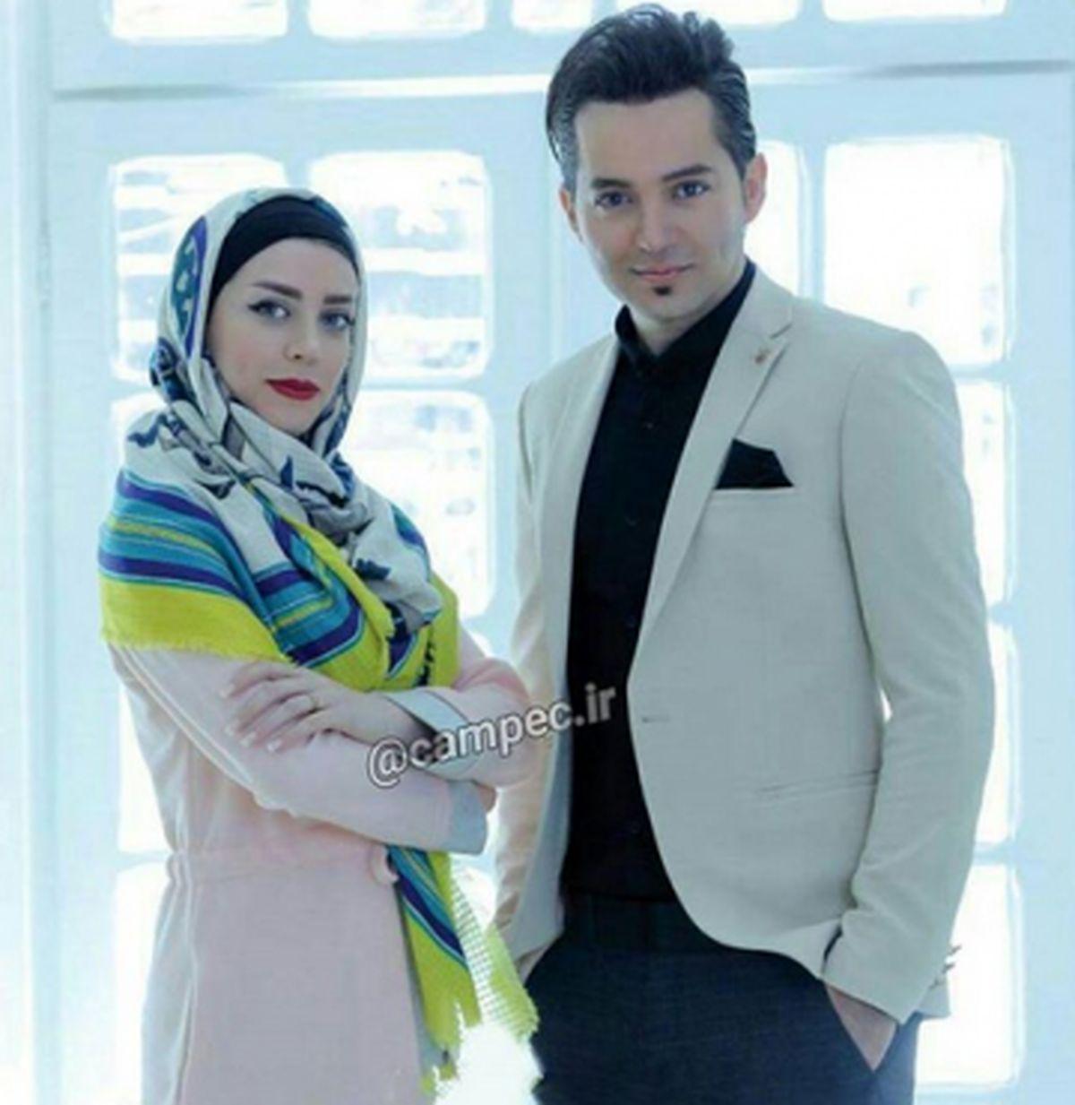 شهنام شهابی ازدواج کرد + عکس دامادی