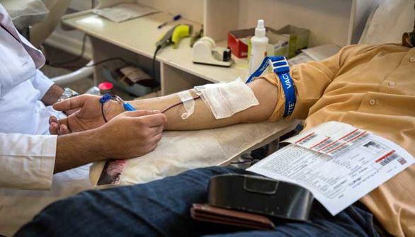 هموطنان با گروههای خونی منفی، A و AB مثبت خون اهدا کنند