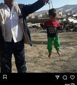 کودک آزاری مرد همدانی با آویزان کردن یک کودک به تسبیح + جزئیات