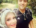 صبا راد در کنار همسرش رسماً کشف حجاب کرد+عکس