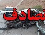 آتشسوزیِ حاصل از تصادف ۲ خودرو جان 8 نفر را گرفت