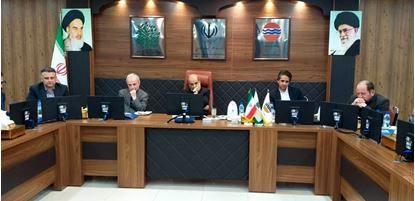 برگزاری بیست و نهمین جلسه شورای برنامه ریزی سازمان منطقه آزاد قشم