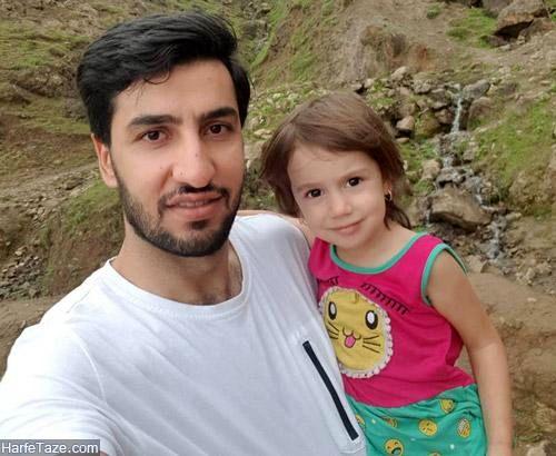 مسعود غلامی | بیوگرافی و عکس های مسعود غلامی والیبالیست و همسرش