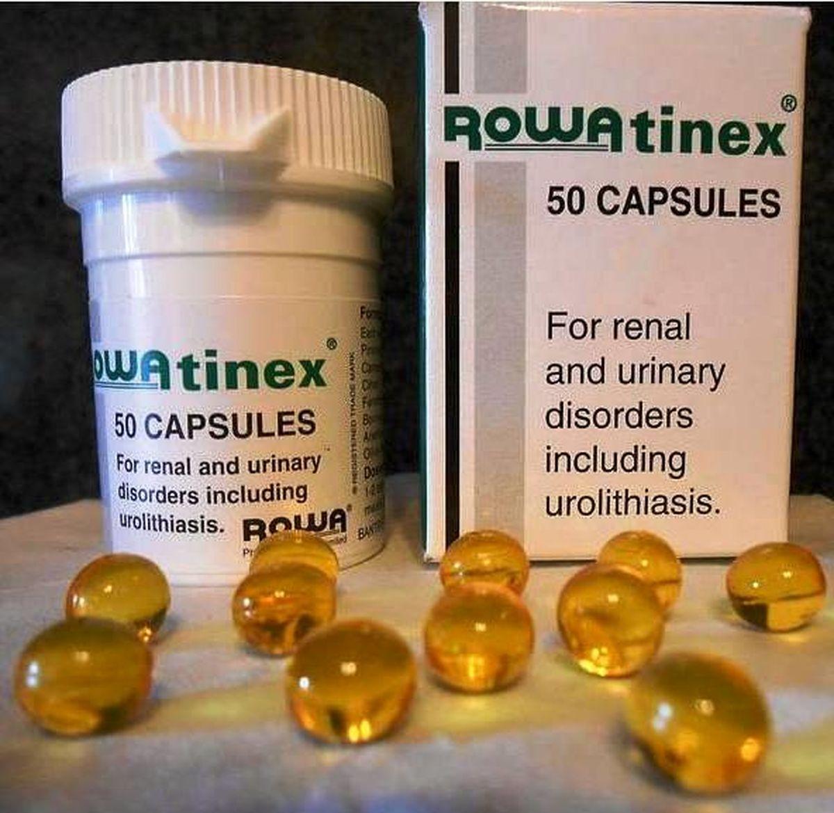 قرص دفع سنگ کلیه رواتینکس (Rowatinex)+طریقه مصرف