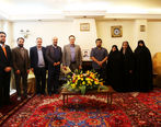 دیدار مدیران ایدرو با خانواده معظم شهید حسن شیبانی