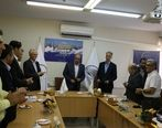 با حضور مدیران ارشد هلدینگ خلیج فارس مدیرعامل جدید پتروشیمی هنگام معارفه شد