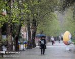 تداوم بارش ها درکشور/آسمان تهران نیمه ابری است