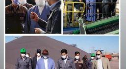 بازدید مدیرکل سازمان بازرسی استان خراسان رضوی از کارخانجات شرکت صنعتی و معدنی سیمیدکو