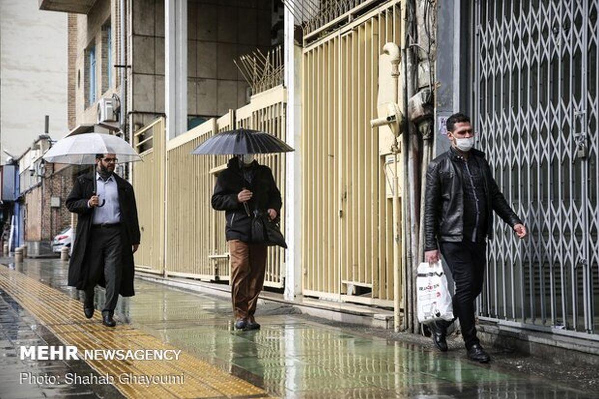 ادامه بارشها در شمال شرق کشور