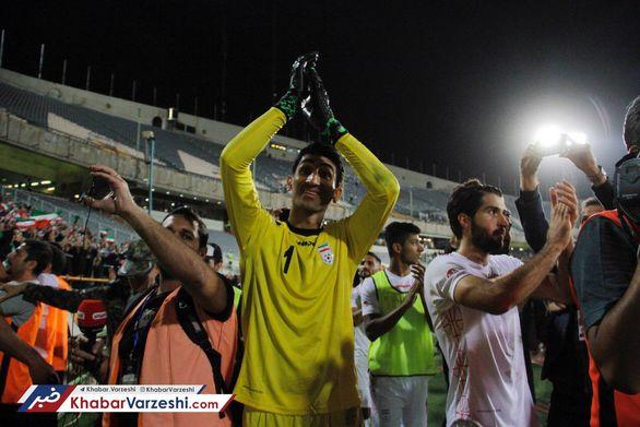 بیرانوند : در لیست تیم ملی هیچ کس ثابت نیست